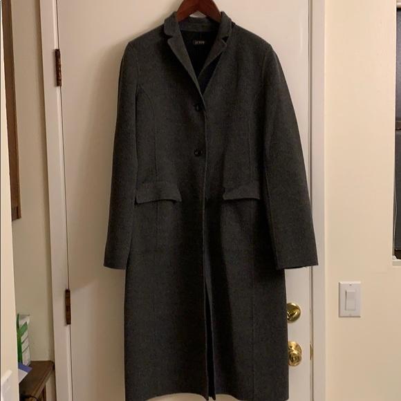J. Crew Jackets & Blazers - J Crew Reversable Wool coat